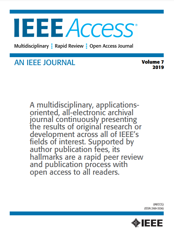 IEEE Access LaTeX Template cover page